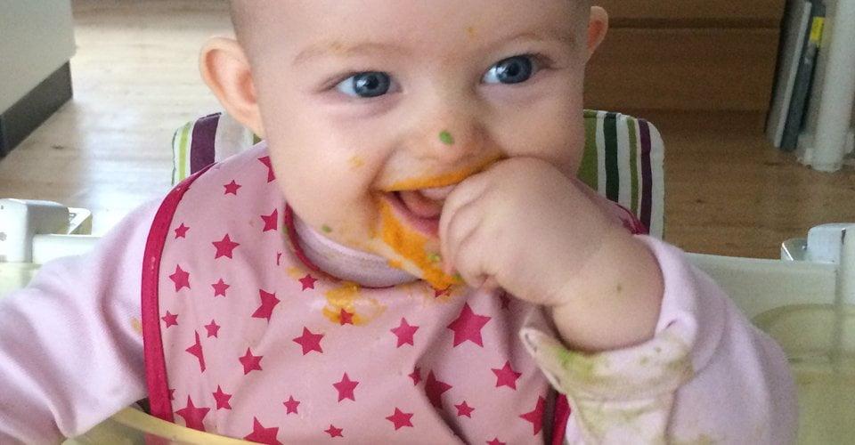 baby vil pludselig ikke spise