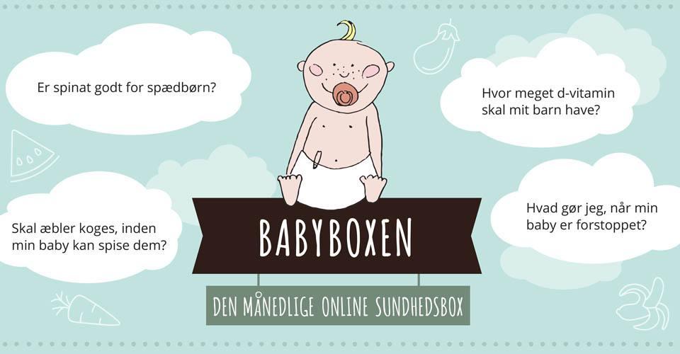 BABYBOXEN - et unikt sundhedsunivers med ekspertviden om baby sundhed, trivsel og spisevaner